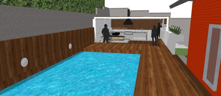 Diseño Exterior Jardín Del Mar Camps Arquitectura Proyectos